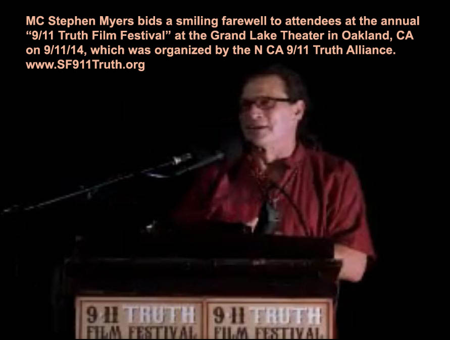 Stephen-Myers-text_MC-smiling-farewell_9-11TruthFilmFest9-11-14vic-sadot-screenshot_NoLiesRadio