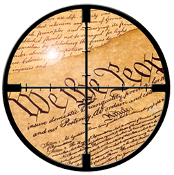 target-on-constitution
